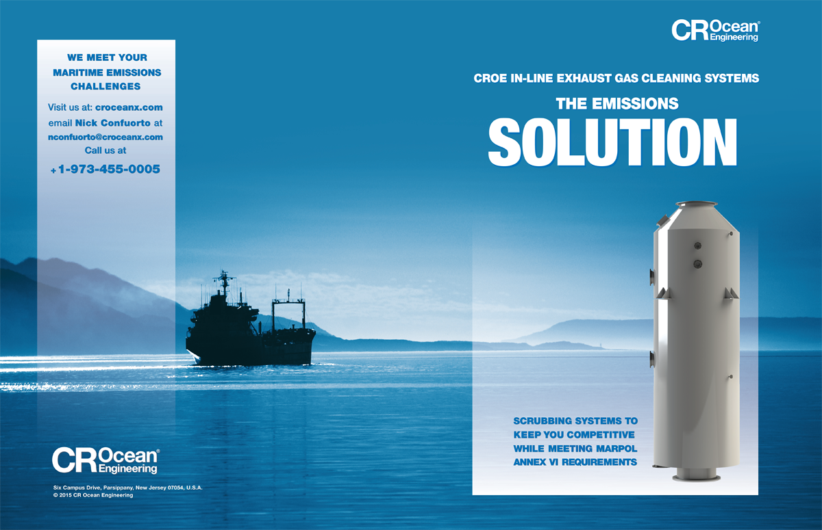Marine Exhaust Gas Scrubbers for MARPOL compliance